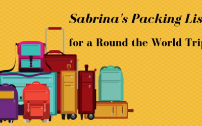Round the World Adventure with Kids: Mom's Packing List